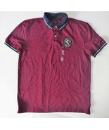 Tommy Hilfiger Mens Polo Short Sleeve Shirt Red Size XLarge NWT - $38.79