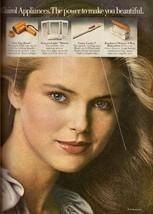 1978 Clairol Hair Dryer Christie Brinkley Retro Print Advertisement Ad VTG 70s - $9.69