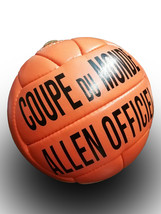Allen Coupe Du Monde | Official Ball | Vintage Classic Soccer | World Cup 1938 - $49.99