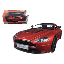 Aston Martin Vantage S V12 Red 1/24 Diecast Model Car by Motormax 79322r - $28.93