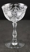 Navarre Etch No. 327, Line No. 6106 Saucer Champagne, made by Fostoria - $12.00
