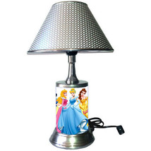 Disney Princess desk lamp with chrome finish shade, 6 Princesses - $39.99