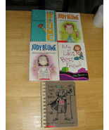 Lot of 5 - Julie Moody, Judy Blume and Julie Bowe Childrens Books - $4.54