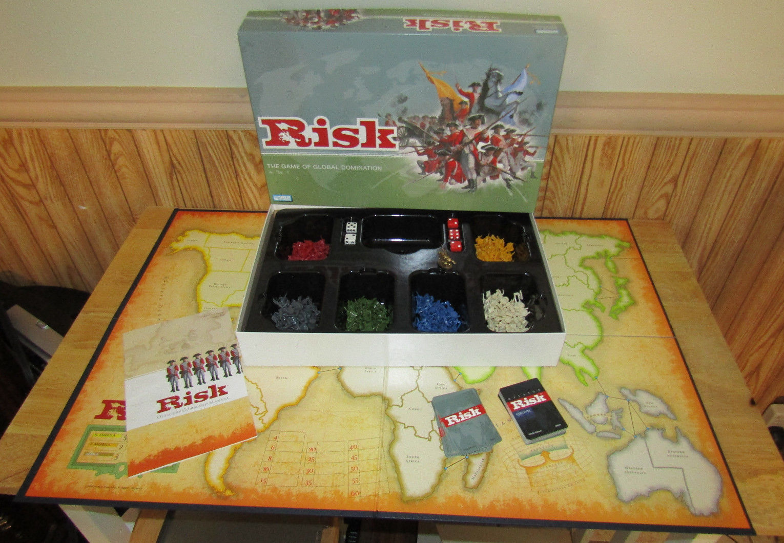 Primary image for 2003 Hasbro Parker Brothers RISK Game of Global Domination Complete Excellent