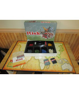2003 Hasbro Parker Brothers RISK Game of Global Domination Complete Exce... - $19.58