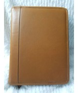 Brown Leather 7 Ring Personal Business Planner Journal 11 x 8 - $49.99