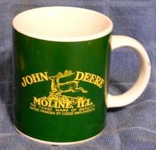 John Deere Green Coffee Mug Gibson Official Licensed Logo Moline ILL - $19.75