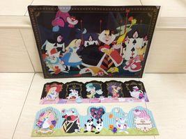 Disney Alice in Wonderland file folder for A4 document And Postcard. RAR... - $25.00