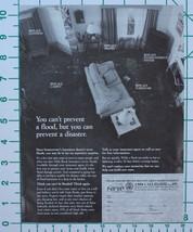 1998 NFIP National Flood Insurance FEMA Print Ad - $9.50