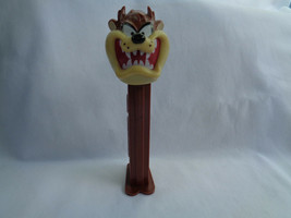 Vintage 1993 PEZ Candy Dispenser Tazmanian Devil Taz Warner Brothers with Feet - $1.49