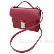 LOUIS VUITTON Monceau BB Epi Leather Fuchsia M40783 Handbag Authentic 53... - $1,450.83
