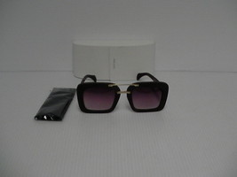 Prada New Sunglasses womens SPR 30RS wood frame rose lenses authentic - $227.65
