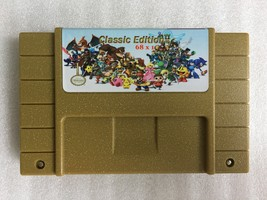 classic edtion super games 68 in 1 video game cartridge 25 game Can Batt... - $39.99