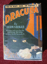 Bram Stoker DRACULA - nice photo play edition in its original dust jacket - $960.40