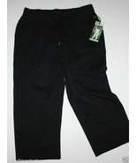 Green Tea NWT Women's S Black Cropped Sweatpants - $23.19