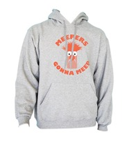 Haters Gonna Hate Meepers Gonna Meep Unisex hoodie S-3XL HEATHER - $31.00+