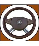 2006-2012 Mercedes Benz ML-Class GL-Class Leather Steering Wheel Assy x1... - $247.45