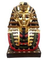"Ebros Ancient Egyptian Mask Of King Tut Bust Statue 6""Tall Pharaoh Tutan... - $22.43"