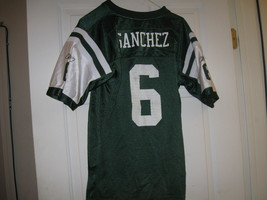 Ny Jets Mark Sanchez Youth Home Jersey(Xl 18/20) - $9.99