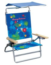 Tommy Bahama The Big Kahuna Beach Chair Blue Print - $45.81