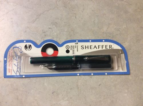 Sheaffer Viewpoint Calligraphy Green Fountain Pen New in Box 72240