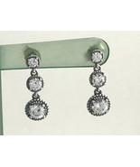 Authentic Pandora Eternal Elegance Earrings, Clear CZ  290742CZ,  New - $62.69