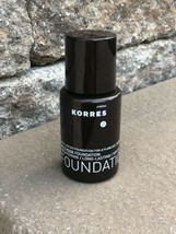 BRAND NEW KORRES WILD ROSE FOUNDATION SPF 20 SHADE WRF8 1.01 OZ UNBOXED ... - $14.85