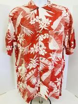 Joe Marlin Hawaiian Mens Casual Short Sleeve Tropical Floral Shirt Men S... - $15.83