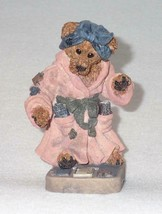 Boyd Bearstone Resin Bears 1996 Ms. Griz Saturday Night Figurine #2284 2... - $8.56