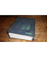 big clark fork lift truck Manual c185 210 310 scr ge ev1 - $58.41