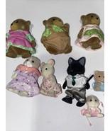 Calico Critters/Lil Woodzeez LOT: Figures Babies Flocked Animals Lot - $51.43