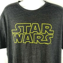 Star Wars Classic Logo XXL T-Shirt 2XL Mens Charcoal A New Hope Old Navy... - £14.86 GBP