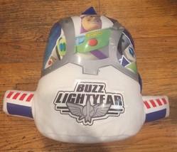 Disney Pixar Toy Story BUZZ LIGHTYEAR Space Ranger white Child's plush B... - $37.36