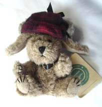 Boyd's Bear and Friends The Archive Collection Dog Indy Plaid Hat- NWT - $14.99