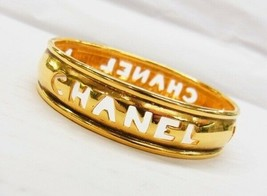 Chanel bangle bracelet gold vintage - $305.18