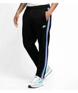 Nike Men Sportswear Tribute OH track Pants Black Spirit Teal Pink AR2246... - $65.00