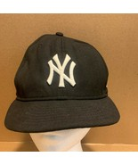 New York Yankees MLB Black 7 1/4 New Era Baseball Trucker Hat Cap - $10.78