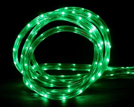 CC Christmas Decor 10' Green LED Indoor/Outdoor Christmas Linear Tape Li... - $27.22