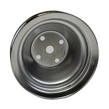 Long Water Pump Pulley LWP Double-Groove For Small Block Chevy SBC 262 327 400 image 4