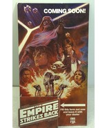 Rare Vintage Star Wars The Empire Strikes Back 1984 CBS Fox Video Store ... - $193.49
