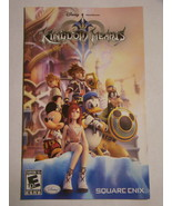 Playstation 2 - KINGDOM HEARTS (Replacement Manual) - $8.00