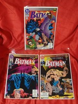Batman #492, 493, & Detective 659 Signed and #'ed by Norm Breyfogle — VF/NM - $20.00