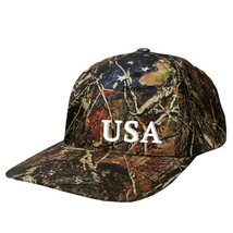 Liberty Camouflage™ Solid Cap - 'USA' 3D Emrbroidery - $25.00