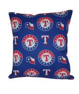 Rangers Pillow Texas Rangers MLB Pillow HANDMADE Baseball Pillow Made In... - $9.97