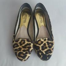 Michael Kors Flats Printed Calf Hair Leopard Cheetah Size 6.5 - $28.04