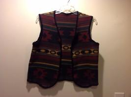 Tribal Design Handmade Open Vest