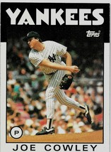 1986 Topps Baseball Card, #427, Joe Cowley, New York Yankees - $0.99