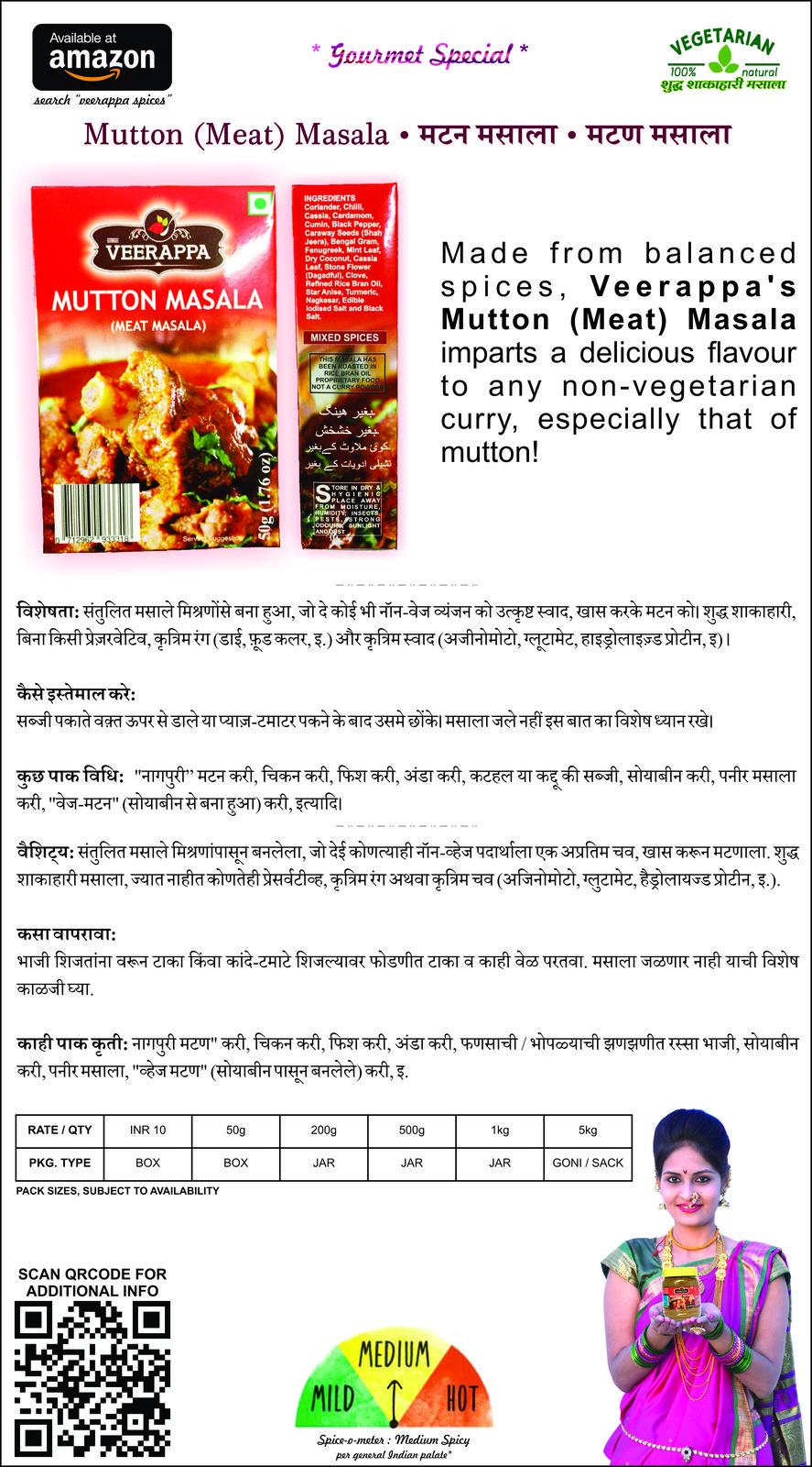 Dawat-e-khas Box (Pack of 4 assortments - Ghati, Shahi Biryani, Mutton, Varhadi)