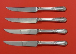 "Inaugural by State House Sterling Silver Steak Knife Set 4pc HHWS  Custom 8 1/2"" - $247.10"