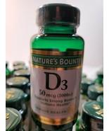 Nature's Bounty Vitamin D3 2000 IU Immune Health, 150 Softgels 6/21 - $10.00